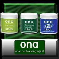 ONA BLOCK  ODOUR NEUTRALISER  175g  pet dogs plant smell fresh linen, pro, polar
