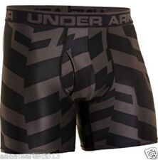 "MEN'S UNDER ARMOUR O SERIES 6"" PRINTED BOXER BRIEFS UNDERWEAR 1242916 009 NWT"