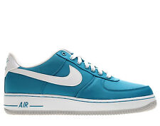 """Nike Air Force 1 One Sneakers New, Tropical teal Blue """"Nylon Pack"""" 488298-310"""