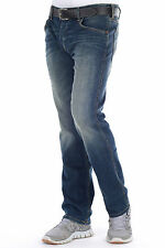 Wrangler Jeans Denim Crank - 'Gimmie' - Straight Cut Mens - All Sizes Selectable