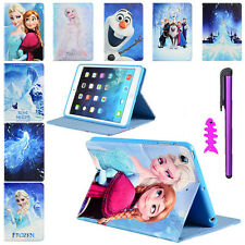 Disney Frozen Character Flip Stand PU Leather Cover Case For iPad Air 5 + Gifts