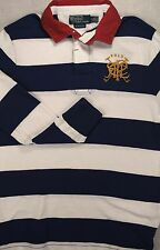 NWT Polo Ralph Lauren SIZES S & M Custom Fit Cross-Mallets Rugby Shirt