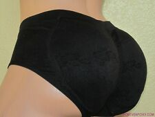Butt Padded Enhancer Microfiber Removable Pads PANTIES Bikini Booty Booster 3070