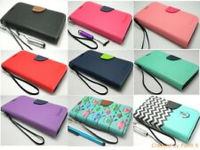 Luxury PU Leather Flip Stand Wallet Case Cover for Samsung Galaxy Note2 II N7100