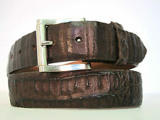 BELT GENUINE REAL AUTHENTIC CROCODILE SKIN COWBOY BOOTES SHOES MADE IN USA