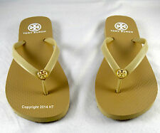 Tory Burch Thin Enamel KHAKI Sandals Flip Flop 5 to 10