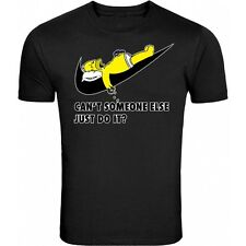 JUST DO IT NEW DESIGN ON BLACK teeT-SHIRT FUNNY SHIRT ALL SIZE