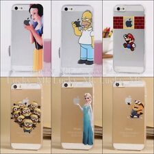 HOMER SIMPSONS SNOW WHITE FROZEN ELSA ARIEL CASE FOR APPLE IPHONE 4 4S 5 5C 5S