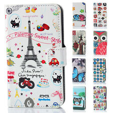 New Prevail Leather Flip Slot Card  Stand Case Cover Skin For Huawei Ascend Y330