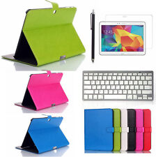 "Luxury PU Leather Folio Stand Case Cover For Samsung Galaxy Tab 4 10.1"" T530"