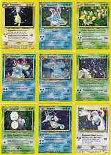 Pokemon Cards Neo Genesis Set HOLOS Non Shiny RARE CHOOSE 1-53/111 Out Of Print