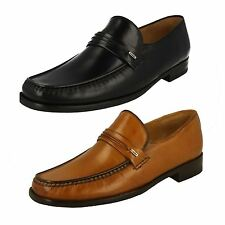 Mens SALE Loake Lifestyle Palermo 2 Black Or Tan Leather Moccasin Slip On Shoes