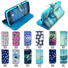 Flip Wallet Leather Cases Covers For Samsung Galaxy Note 3 I8190 S4 Mini S5 Mini