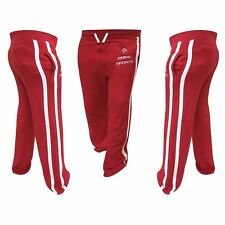 Mens Cotton Joggers Fleece Jogging Trousers Pants Track Suit MMA Bottom Red 703