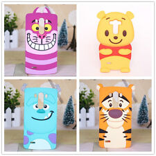 3D Cartoon Tigger Cat Silicone Back Cover for LG Optimus G2 G3 G3Mini Phone Case