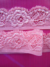 Beautiful (flower diagram) elastic lace ribbon 5/10/20/50 yards color selection