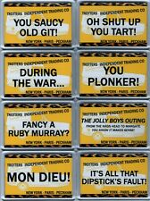 NEW - ONLY FOOLS AND HORSES - OFAH - Del Boy Novelty Fridge Magnets (Series 2)