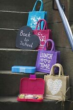 LITTLE LUNCH BAGS - Various Cute Designs & Colours (BRAND NEW)