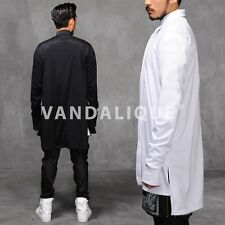 """Xquare 23 Back Extended Long Jersey Casual Shirt 36"""" Kanye A$AP FABRIXQUARE s121"""