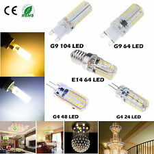 3W 4W 5W 7W G4 G9 E14 SMD 3014 LED Warm Cool White Lamp Bulbs Corn Light lámpara