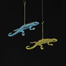 "Kurt Adler Christmas Noble Gems Gecko Lizard Ornament 6"" You Pick NB0916 New2014"