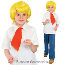 CK241 Licensed Scooby Doo Fred Fancy Dress Child Costume Kids Boys Book Week