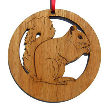 Pet Custom Laser Engraved Wild Forest Animal Christmas Tree Ornaments PICK BREED