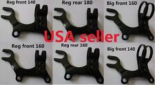 Bike Disc brake bracket frame adaptor 3 sizes for 140/160 /180mm rotor