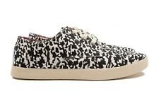Toms Womens Paseos Black White Animal Camo Brand New in Box Sizes 5-10 Free Ship