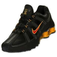 Nike Shox Turbo SL Men's Running Shoes Black Red Gold Sneakers 525248 067 NEW