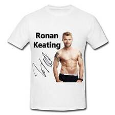 WS018 Ronan Keating autographed signed T-SHIRT T SHIRT SIGNATURE