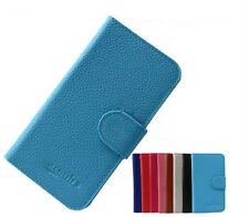 New PU Slim Wallet Card Leather Cover Case for Alcatel One Touch Pop C5 OT-5036D