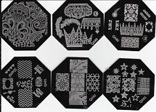 New Nail Art Image Stamp Stamping Plates Manicure Template QA88-93 Series