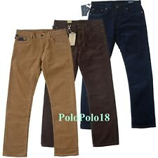 New $98 Polo Ralph Lauren 5 Pocket Corduroy 650 Jeans Pants 30 31 34 35 36 38 42
