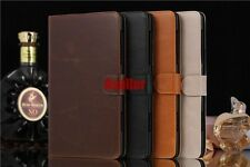 Auto Wake/Sleep Luxury Magnetic Flip Folio Leather Wallet Card Stand Case Pouch