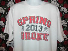 * SPRING BROKE 2013 ** Funny and Cool College Men's Graphic Tee