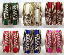 Indian Bollywood Ethnic Wedding Costume bangles bracelet Fashion Jewelry 2133