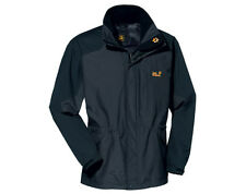 JACK WOLFSKIN  MENS BLACK RANGE JACKET WATERPROOF - BLACK - BNWT