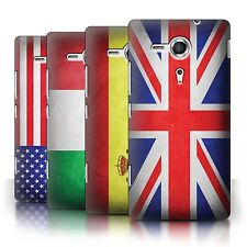 STUFF4 Phone Case/Back Cover for Sony Xperia SP/C5303 /Flags