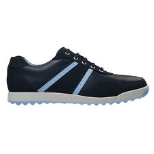 New FootJoy Contour Casual Golf Shoes Navy/White - Multiple Sizes
