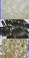 """1.5"""" Inch - 72 Pieces Hand Crafted Bone Tube - Pipe Beads - 2 mm Hole"""