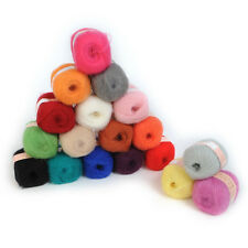 Quality Wholesale 1pc Natural Angola  Warm Mohair  Wool Knitting Yarn  Home