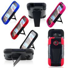 Hybrid Shockproof Hard Phone Cover Case Stand for Samsung Galaxy Ace Style S765C