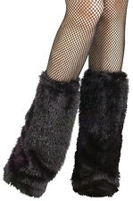 Brand New Fuzzy Boot Covers Halloween Costume Accessory