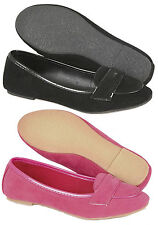 Girls Flat Sandals Kids Loafers Moccasin Summer Pumps Casual Shoes Size