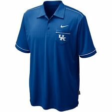 $60 NEW Nike Dri-fit UK KENTUCKY WILDCATS Performance Polo Shirt Blue S M L