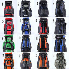50L Mountaineering Outdoor Travel Backpack Day Pack Hiking Camping Bag 16 colour
