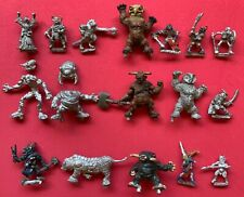 Citadel GW TSR AD&D Dungeons & Dragons Player Characters Fighters/Wizards/Thief
