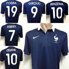 NEW!!! WORLD CUP 2014 ORIGINAL FRANCE HOME SOCCER JERSEY ALL PLAYERS !!!