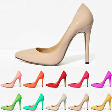 Classic Women High Heels Pumps Pointed Toe Party Dressy Bridal Shoes Stilettos